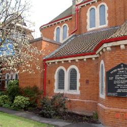 church gutters