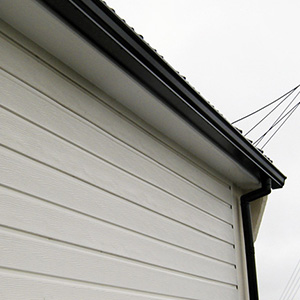 Roofline and cladding