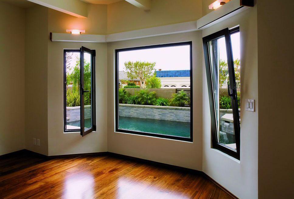 Aluminium tilt and turn windows