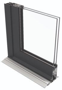 Alitherm door cross-section