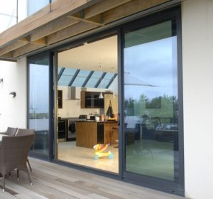 Aluminium patio door