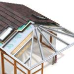 Guardian warm roof 3D illustration